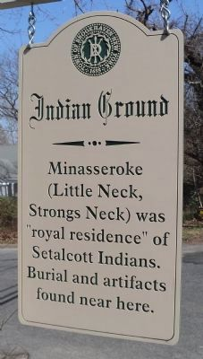Indian Ground Marker image. Click for full size.