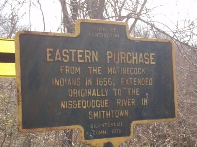 Eastern Purchase Marker image. Click for full size.