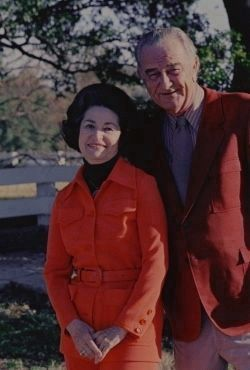 Lyndon and Lady Bird Johnson image. Click for full size.