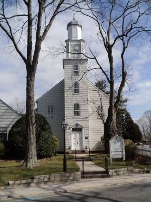 Setauket Presbyterian Church image. Click for full size.