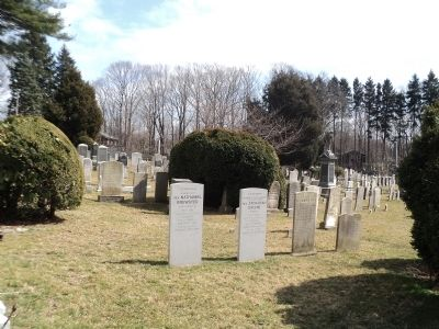 Setauket Presbyterian Church Graveyard image. Click for full size.