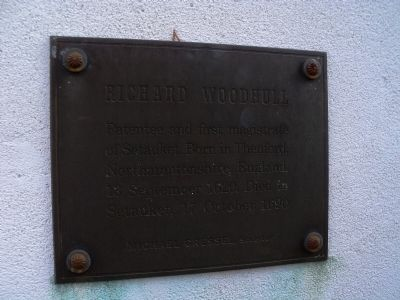 Richard Woodhull Marker Photo, Click for full size