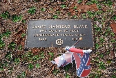 James Hanserd Black Tombstone image. Click for full size.