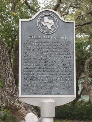 Stella Maris Chapel Marker image. Click for full size.