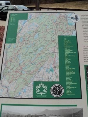Bear Mountain Map from Marker image. Click for full size.
