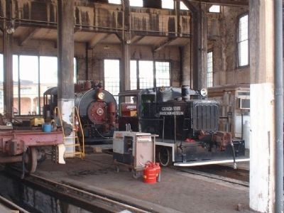 Roundhouse Engine shop image. Click for full size.