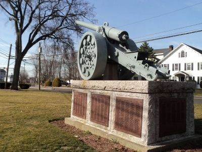 Norwalk World War I Memorial image. Click for full size.