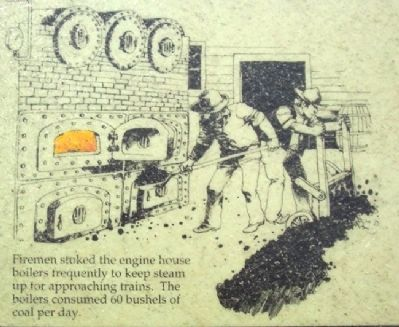 Engine House No. 6 Marker Detail image. Click for full size.
