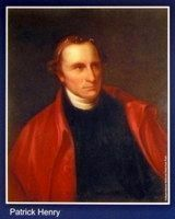 Patrick Henry image. Click for full size.