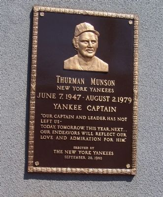 Thurman Munson Marker image. Click for full size.