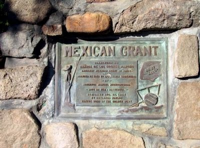 Mexican Grant Marker Photo, Click for full size
