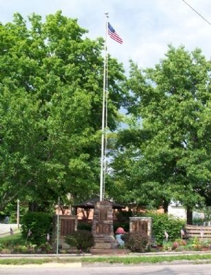 Bloom Township War & Veterans Memorial Photo, Click for full size