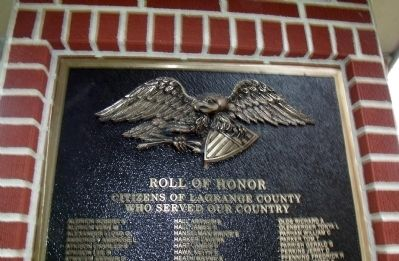 "Others Who Served ""A - Y"" - - LaGrange County Honor Roll image. Click for full size."
