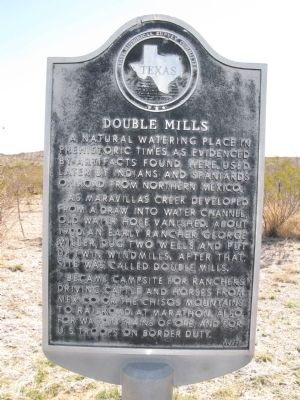 Double Mills Marker image. Click for full size.