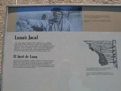 Luna's Jacal Marker Photo, Click for full size