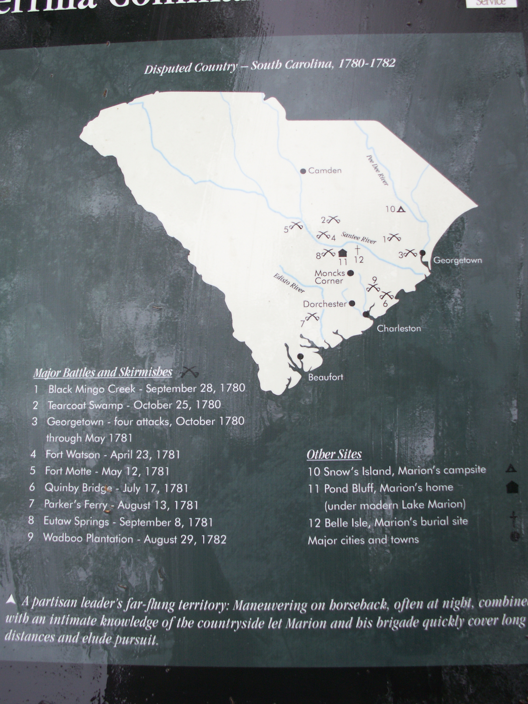 Map on the marker