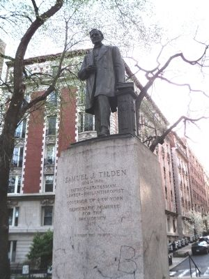 Samuel Tilden Statue image. Click for full size.