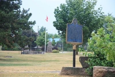 The Founding of Thorold Marker image. Click for full size.