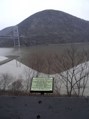 Anthonys Nose Marker in Bear Mountain State Park image. Click for full size.