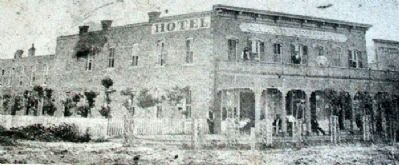 Grand Central Hotel Photo on Marker image. Click for full size.
