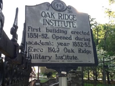 Oak Ridge Institute Marker image. Click for full size.