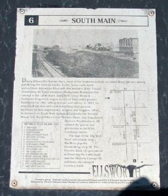 South Main Marker image. Click for full size.