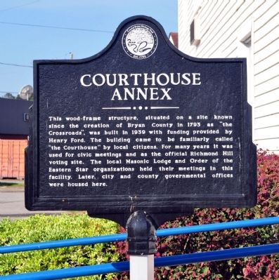 Courthouse Annex Marker Photo, Click for full size