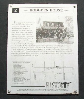 Hodgden House Marker image. Click for full size.