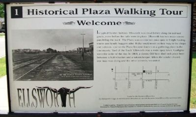 Historical Plaza Walking Tour Marker Photo, Click for full size
