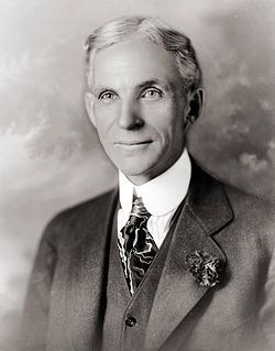 Henry Ford in 1919 Photo, Click for full size