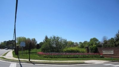 Lewis Ginter Botanical Garden Entrance image. Click for full size.