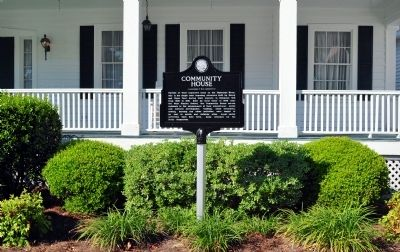 Community House Marker image. Click for full size.