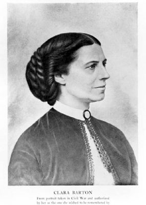 Clara Barton Photo, Click for full size