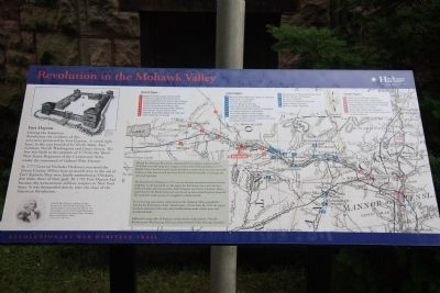 Revolution in the Mohawk Valley Marker image. Click for full size.