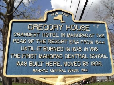 Gregory House Marker image. Click for full size.