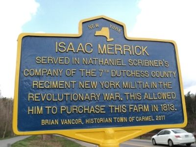 Isaac Merrick Marker image. Click for full size.