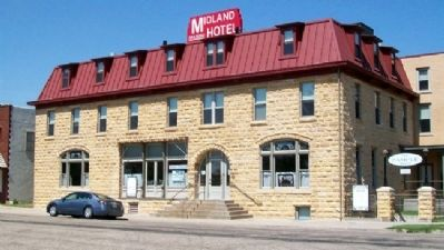 Midland Hotel in Wilson, Kansas image. Click for full size.