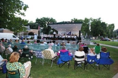 Cleaon Etzkorn Bandstand - Summer Concert image. Click for full size.