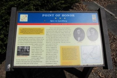 Point of Honor CWT Marker image. Click for full size.