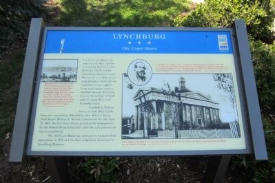 Lynchburg CWT Marker image. Click for full size.