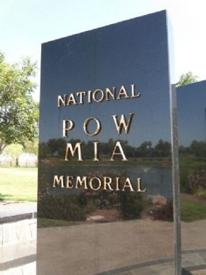 National POW MIA Memorial Marker image. Click for full size.