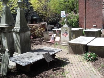 Patriot Graves in St. James Churchyard image. Click for full size.