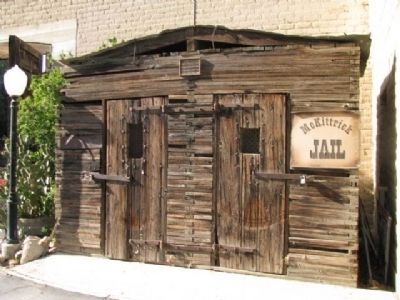 McKittrick Jail image. Click for full size.