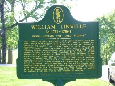 William Linville Marker Photo, Click for full size