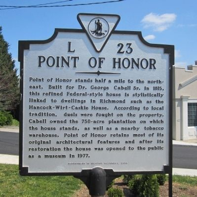 Point of Honor Marker image. Click for full size.
