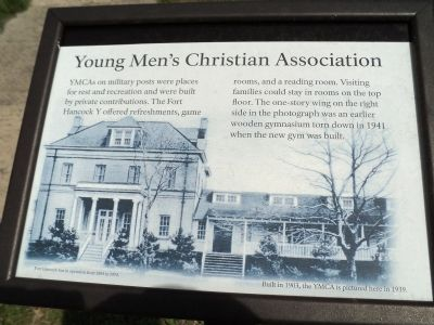 Young Men's Christian Association Marker image. Click for full size.