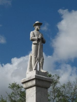 Polk County Confederate Monument Photo, Click for full size
