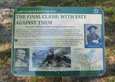 The Final Clash: With Fate Against Them Marker image. Click for full size.