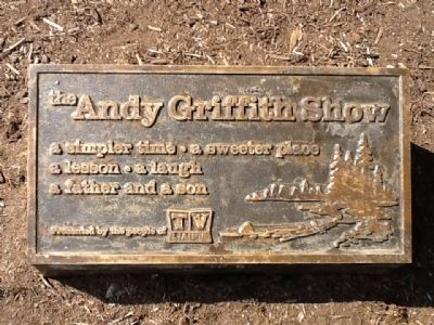 The Andy Griffith Show Marker Photo, Click for full size