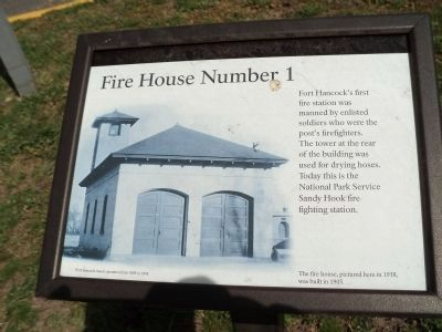 Fire House Number 1 Marker image. Click for full size.